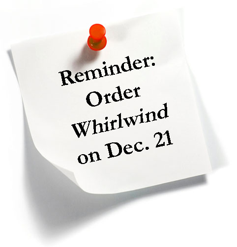 Whirlwind available 12/21/10